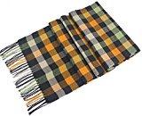 Da uomo a scacchi Design Fashion sciarpa lavorata a maglia sciarpe autunno/inverno, nuovo