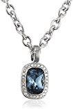 Dyrberg/Kern collana per donna senza ciondolo 15/02Dolla Ss Blue in acciaio inox cristallo blu 50cm–337644
