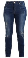JRFIVE  - Jeans slim fit - dark blue denim