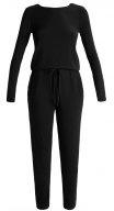 AMANDA - Tuta jumpsuit - black melange