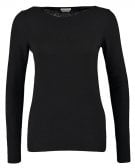 SLIM FIT - Maglione - black