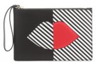 GRACE - Pochette - black/white/red