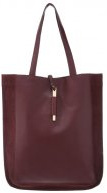 Shopping bag - burgundy