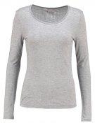 VMWOOL - Maglietta a manica lunga - light grey melange
