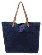 Shopping bag - dark blue