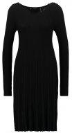 VINOW - Vestito di maglia - black