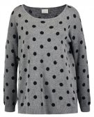 VMDOTTY  - Maglione - medium grey melange/black