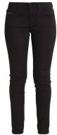 MID RISE SKINNY - Jeans slim fit - black