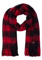 Superdry ORKNEY  Sciarpa red/black