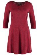 Vestito di maglina - red melange