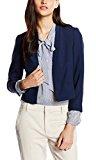 ESPRIT Collection Regular Fit Blazer, Donna, Blu (NAVY 400), M (Taglia Produttore: 40)