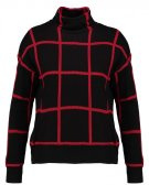 Maglione - black/red