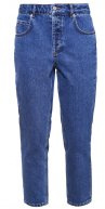 SFFRIDA  MOM  - Jeans baggy - medium blue denim