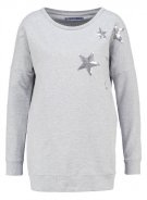 ONLSTELLA AMOUR - Felpa - light grey melange