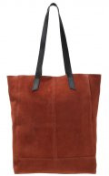 Shopping bag - terracotta