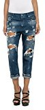 Replay Gracelly-Jeans Donna, Blu (Blue Denim 9), W28