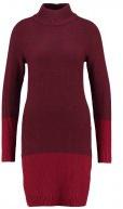 Vestito di maglia - bordeaux red