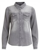 VIBISTA  - Camicia - grey denim