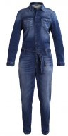 RAYNA - Tuta jumpsuit - dark blue sporty
