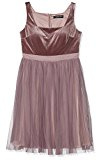 Little Mistress Velvet and Tulle Dress, Vestito Donna