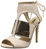 Jane Norman - Heel Nude & Rose Gold Cage, Scarpe col tacco Donna