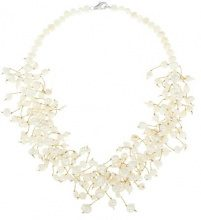 Bijoux pour tous - Collana, Perla, Argento Sterling 925