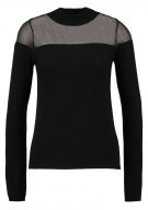 Miss Selfridge SHEER Maglione black
