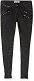 Boohoo Multi-ZIP Skinny, Jeans Donna, Nero (Black), W29/L30 (Taglia Produttore: 12)