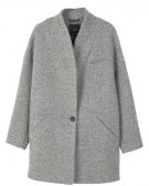 QUO - Cappotto classico - light heather grey