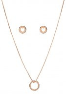 SET  - Collana - rose gold coloured