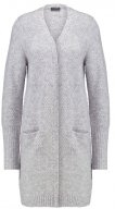 Vila VIPLACE Cardigan light grey melange