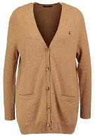 Cardigan - dark beige heat