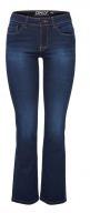 Jeans bootcut - dark blue denim