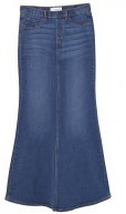 PITI - Gonna di jeans - dark blue