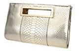 hoxis Classic coccodrillo Pattern Cut Out frizione sacchetti per donne con tracolla