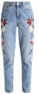 MANGA MOM - Jeans baggy - blue