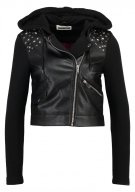 NMTROY - Giacca in fintapelle - black