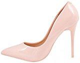 Elara Spitze Damen Pumps | Bequeme Lack Stilettos | Elegante High Heels
