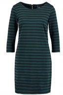 VITINNY - Vestito di maglina - black/ponderosa pine