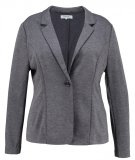 Zalando Essentials Curvy Blazer dark grey melange
