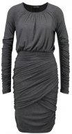 BALANCE - Vestito di maglina - dark grey melange