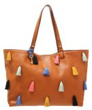 RACHEL  - Borsa a mano - brown/multi-coloured