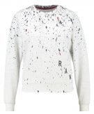 USTRA CROPPED R SW  L/S - Felpa - ivory heather