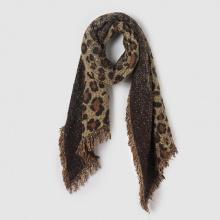 Sciarpa motivo leopardato