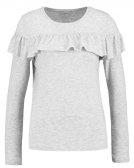 ONLFLOUNCES - Maglietta a manica lunga - light grey melange