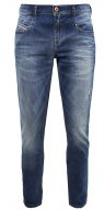 BELTHY - Jeans a sigaretta - blue denim