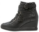 ELENI - Sneakers alte - black