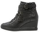 ELENI - Sneakers alte - black