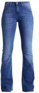 SKINNY FLARE - Jeans a zampa - worn pacific