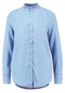 Teddy Smith COLETTE  Camicetta blue denim